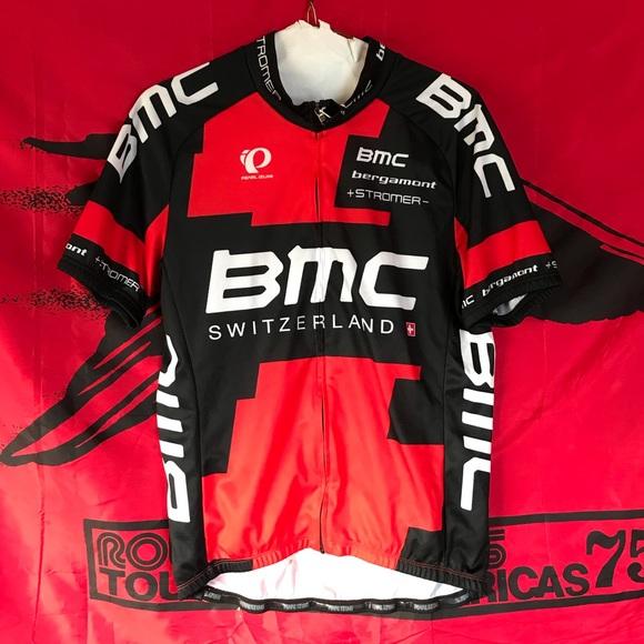 info for 7e44a 52c06 Pearl Izumi BMC Switzerland Cycling Jersey Medium
